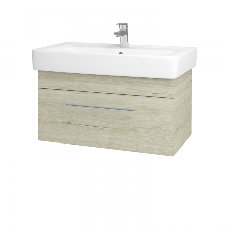 Dreja - Kúpeľňová skriňa Q UNO SZZ 80 - D05 Oregon / Úchytka T02 / D05 Oregon (28483B)