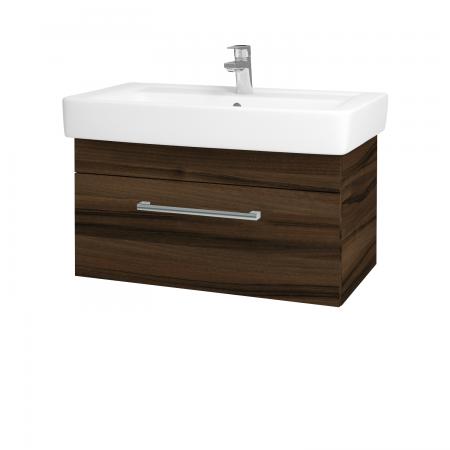 Dreja - Kúpeľňová skriňa Q UNO SZZ 80 - D06 Ořech / Úchytka T03 / D06 Ořech (28490C)