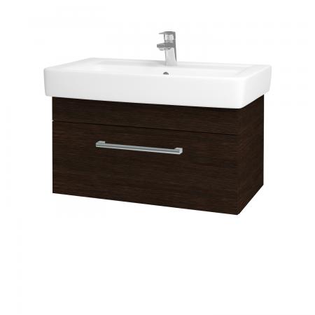 Dreja - Kúpeľňová skriňa Q UNO SZZ 80 - D08 Wenge / Úchytka T03 / D08 Wenge (28513C)