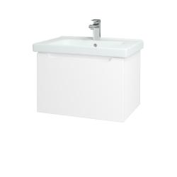 Dreja - Kúpeľňová skriňa COLOR SZZ 65 - N01 Bílá lesk / L01 Bílá vysoký lesk (122959)