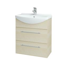 Dreja - Kúpeľňová skriňa TAKE IT SZZ2 65 - D02 Bříza / Úchytka T02 / D02 Bříza (133764B)