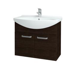 Dreja - Kúpeľňová skriňa TAKE IT SZD2 75 - D08 Wenge / Úchytka T01 / D08 Wenge (133368A)
