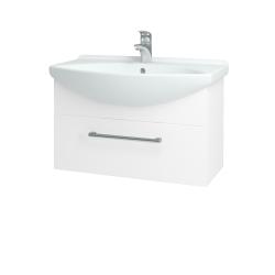 Dreja - Kúpeľňová skriňa TAKE IT SZZ 75 - N01 Bílá lesk / Úchytka T03 / N01 Bílá lesk (134396C)