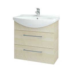 Dreja - Kúpeľňová skriňa TAKE IT SZZ2 75 - D02 Bříza / Úchytka T03 / D02 Bříza (133900C)