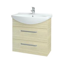 Dreja - Kúpeľňová skriňa TAKE IT SZZ2 75 - D04 Dub / Úchytka T01 / D04 Dub (133924A)