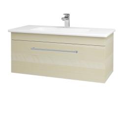 Dreja - Kúpeľňová skriňa ASTON SZZ 100 - D02 Bříza / Úchytka T03 / D02 Bříza (131388C)