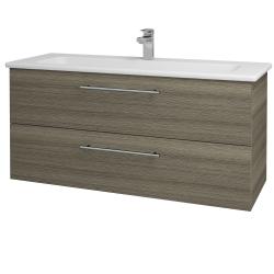 Dreja - Kúpeľňová skriňa GIO SZZ2 120 - D03 Cafe / Úchytka T02 / D03 Cafe (130718B)