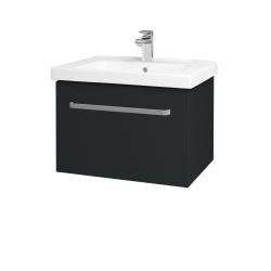 Dreja - Kúpeľňová skriňa BIG INN SZZ 65 - L03 Antracit vysoký lesk / Úchytka T01 / L03 Antracit vysoký lesk (149574A)