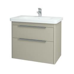 Dreja - Kúpeľňová skriňa ENZO SZZ2 80 - M05 Béžová mat / M05 Béžová mat (146528)