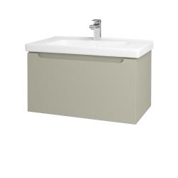 Dreja - Kúpeľňová skriňa COLOR SZZ 80 - L04 Béžová vysoký lesk / L04 Béžová vysoký lesk (146627)