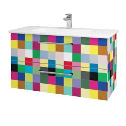 Dreja - Kúpeľňová skriňa GIO SZZ2 100 - IND Individual / Úchytka T03 / IND Individual (129873C)