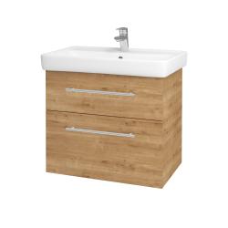 Dreja - Kúpeľňová skriňa Q MAX SZZ2 70 - D09 Arlington / Úchytka T02 / D09 Arlington (115401B)