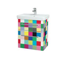Dreja - Kúpeľňová skriňa GO SZZ2 55 - IND Individual / Úchytka T03 / IND Individual (148430C)