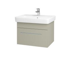 Dreja - Kúpeľňová skriňa Q UNO SZZ 60 - L04 Béžová vysoký lesk / Úchytka T02 / L04 Béžová vysoký lesk (150655B)