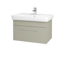 Dreja - Kúpeľňová skriňa Q UNO SZZ 70 - L04 Béžová vysoký lesk / Úchytka T02 / L04 Béžová vysoký lesk (150792B)