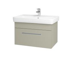 Dreja - Kúpeľňová skriňa Q UNO SZZ 70 - L04 Béžová vysoký lesk / Úchytka T03 / L04 Béžová vysoký lesk (150792C)