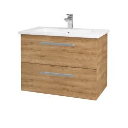 Dreja - Kúpeľňová skriňa GIO SZZ2 80 - D09 Arlington / Úchytka T01 / D09 Arlington (146405A)