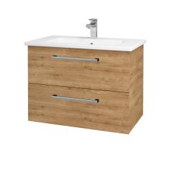 Dreja - Kúpeľňová skriňa GIO SZZ2 80 - D09 Arlington / Úchytka T03 / D09 Arlington (146405C)