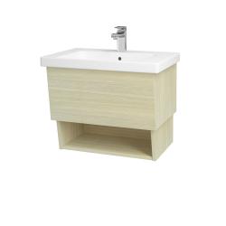Dreja - Kúpeľňová skriňa INVENCE SZZO 65 (umývadlo Harmonia) - D04 Dub / D04 Dub (146993)