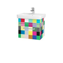Dreja - Kúpeľňová skriňa SOLO SZZ 50 - IND Individual / Úchytka T03 / IND Individual (150105C)
