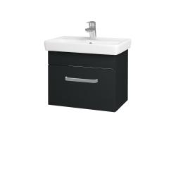 Dreja - Kúpeľňová skriňa SOLO SZZ 55 - L03 Antracit vysoký lesk / Úchytka T01 / L03 Antracit vysoký lesk (150228A)