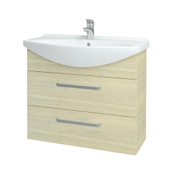 Dreja - Kúpeľňová skriňa TAKE IT SZZ2 85 - D04 Dub / Úchytka T01 / D04 Dub (134068A)