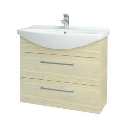 Dreja - Kúpeľňová skriňa TAKE IT SZZ2 85 - D04 Dub / Úchytka T03 / D04 Dub (134068C)