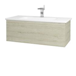 Dreja - Kúpeľňová skriňa VARIANTE SZZ 100 (umývadlo Euphoria) - D05 Oregon / D05 Oregon (160371)