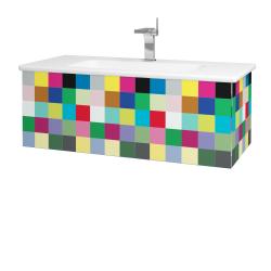 Dreja - Kúpeľňová skriňa VARIANTE SZZ 100 (umývadlo Euphoria) - IND Individual / IND Individual (160425)