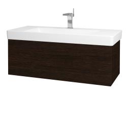Dreja - Kúpeľňová skriňa VARIANTE SZZ 105 - D08 Wenge / D08 Wenge (164300)