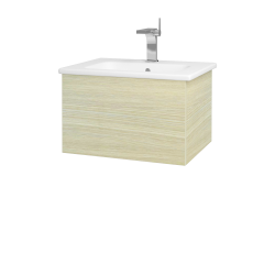 Dreja - Kúpeľňová skriňa VARIANTE SZZ 60 (umývadlo Euphoria) - D04 Dub / D04 Dub (159252)