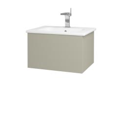 Dreja - Kúpeľňová skriňa VARIANTE SZZ 60 (umývadlo Euphoria) - L04 Béžová vysoký lesk / L04 Béžová vysoký lesk (159337)
