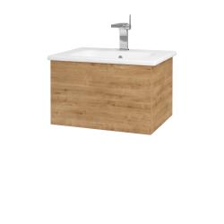 Dreja - Kúpeľňová skriňa VARIANTE SZZ 60 (umývadlo Euphoria) - D09 Arlington / D09 Arlington (159290)