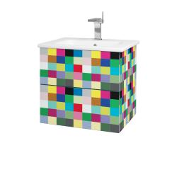 Dreja - Kúpeľňová skriňa VARIANTE SZZ2 60 (umývadlo Euphoria) - IND Individual / IND Individual (159597)