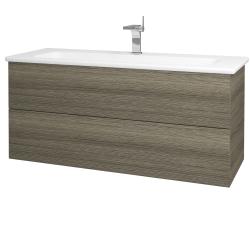 Dreja - Kúpeľňová skriňa VARIANTE SZZ2 120 (umývadlo Euphoria) - D03 Cafe / D03 Cafe (161194)