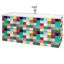 Dreja - Kúpeľňová skriňa VARIANTE SZZ2 120 (umývadlo Euphoria) - IND Individual / IND Individual (161262)