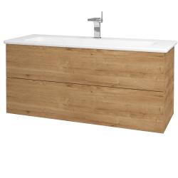 Dreja - Kúpeľňová skriňa VARIANTE SZZ2 120 (umývadlo Euphoria) - D09 Arlington / D09 Arlington (161248)