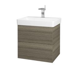 Dreja - Kúpeľňová skriňa VARIANTE SZZ2 60 - D03 Cafe / D03 Cafe (162870)