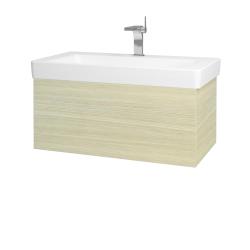 Dreja - Kúpeľňová skriňa VARIANTE SZZ 85 - D04 Dub / D04 Dub (163716)