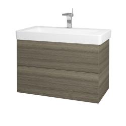 Dreja - Kúpeľňová skriňa VARIANTE SZZ2 85 - D03 Cafe / D03 Cafe (165352)