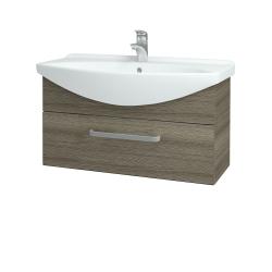 Dreja - Kúpeľňová skriňa TAKE IT SZZ 85 - D03 Cafe / Úchytka T01 / D03 Cafe (174798A)