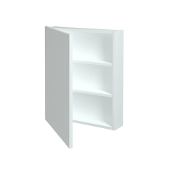Dreja - Jednodverová galérka Q GA 60 - N01 Bílá lesk / Levé (29015)