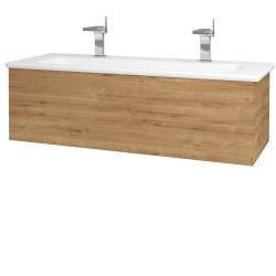 Dreja - Kúpeľňová skriňa VARIANTE SZZ 120 (umývadlo Euphoria) - D09 Arlington / D09 Arlington (160968U)