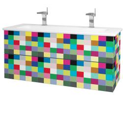 Dreja - Kúpeľňová skriňa VARIANTE SZZ2 120 (umývadlo Euphoria) - IND Individual / IND Individual (161262U)