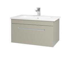 Dreja - Kúpeľňová skriňa ASTON SZZ 80 - M05 Béžová mat / Úchytka T03 / M05 Béžová mat (199326C)