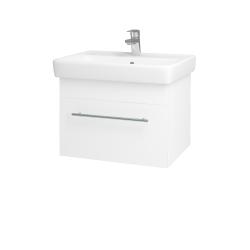 Dreja - Kúpeľňová skriňa Q UNO SZZ 60 - N01 Bílá lesk / Úchytka T02 / M01 Bílá mat (208547B)