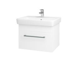 Dreja - Kúpeľňová skriňa Q UNO SZZ 60 - N01 Bílá lesk / Úchytka T03 / M01 Bílá mat (208547C)