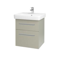 Dreja - Kúpeľňová skriňa Q MAX SZZ2 55 - M05 Béžová mat / Úchytka T01 / M05 Béžová mat (198015A)
