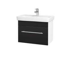 Dreja - Kúpeľňová skriňa SOLO SZZ 60 - N01 Bílá lesk / Úchytka T02 / N08 Cosmo (205799B)