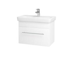 Dreja - Kúpeľňová skriňa SOLO SZZ 60 - N01 Bílá lesk / Úchytka T02 / M01 Bílá mat (205744B)